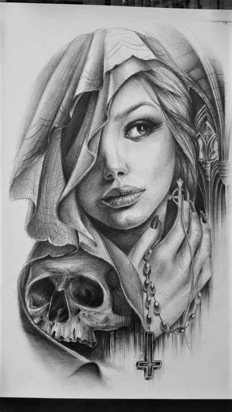 beauty tattoo designs awe chicano and tatting