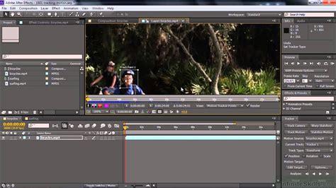 Paket Adobe After Effects Cc Tutorial adobe after effects cc tutorial tracking motion with the tracker