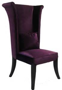 Eclectic Dining Chairs Mad Hatter Dining Chair In Purple Velvet Eclectic Dining Chairs By Modern Furniture Warehouse