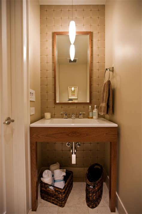 Small Powder Bathroom Ideas Small Bathroom Design In Former Closet By Bay Area Remodeling Contractor Contemporary Powder