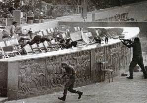 Egyptian president anwar sadat is assassinated by islamic extremists