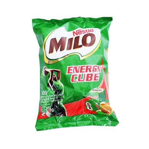 Milo Cube 100 Pcs 275 Gr nestle milo energy cubes 100pcs 275g choco express