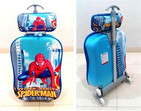 Tas Sekolah Anak Trolley Optimus Blue tas anak 2 tas troli trolley anak sekolah