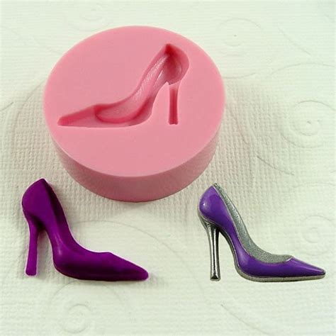 high heel mold high heel shoe mini mold mould 25mm for by moldmuse