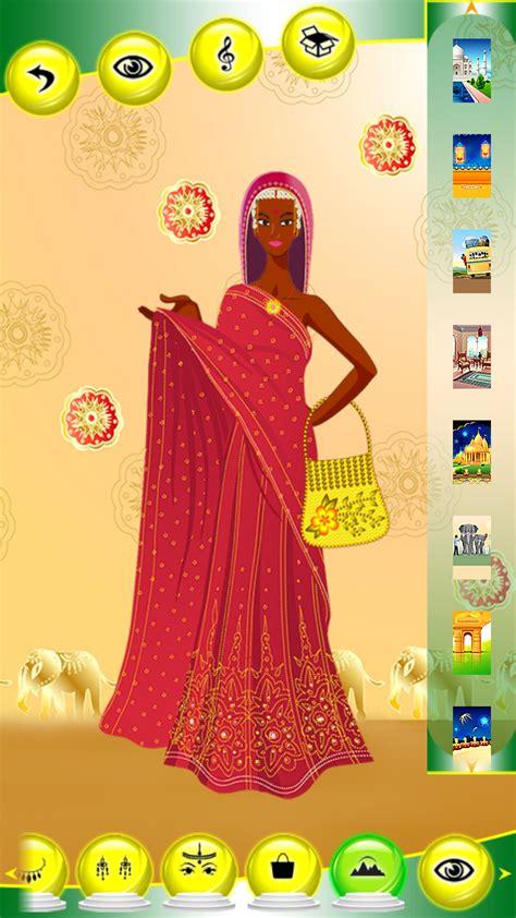 hindi girl dress  games