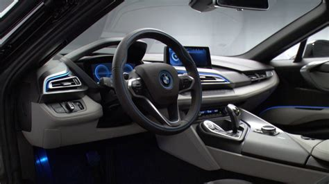 bmw i8 inside 2014 bmw i8 interior youtube