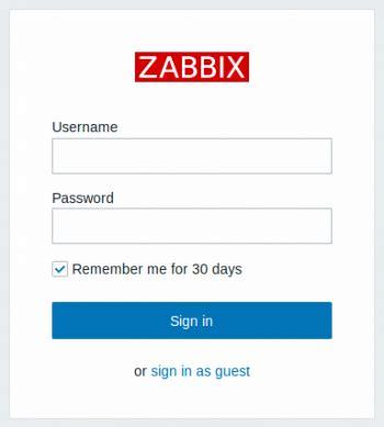 Zabbix Documentation