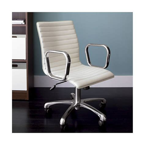 ivory leather desk chair ripple ivory leather office chair shops chairs and leather
