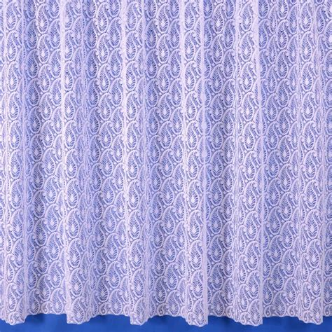 paisley lace curtains paisley net curtain in white sold by the metre