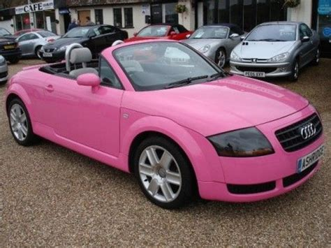Pink Audi Tt by Pink Audi Tt Girly Cars For Drivers Pink
