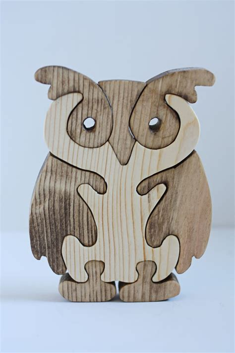 Wooden Balancing Owl easiest way for me to make this would be to cut it all out
