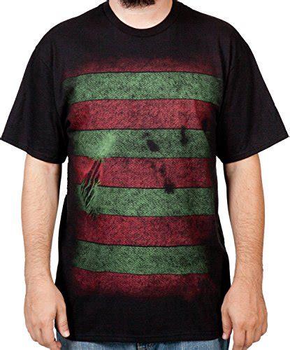 T Shirt Gallien Krueger Black mens nightmare on elm freddy krueger mask t shirt black large niftywarehouse