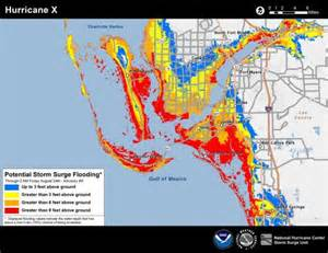 florida flood maps new hurricane forecast maps to show flood risk from
