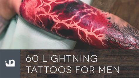 60 lightning tattoos for men youtube