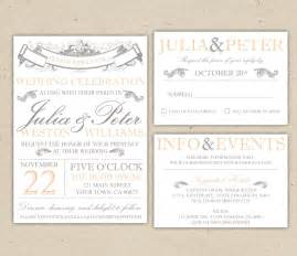 wedding invite template vintage wedding invitation templates best template