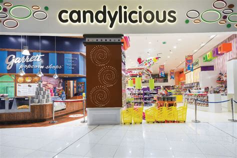 Interior Furnishing by Candylicious Candy Store At The Dubai Mall