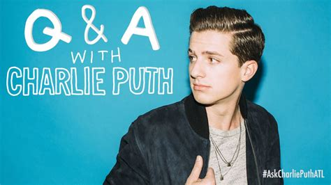 Charlie Puth Q And A | ask atlantic q a with charlie puth youtube