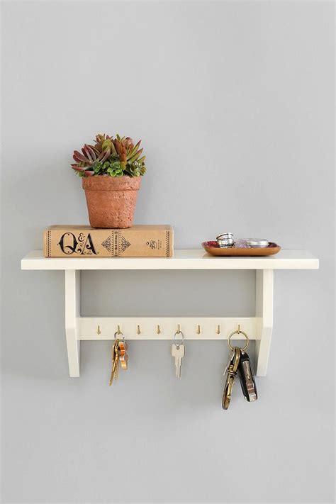 Key Hook Rack With Shelf by 25 Best Ideas About Key Holders On Key Hook