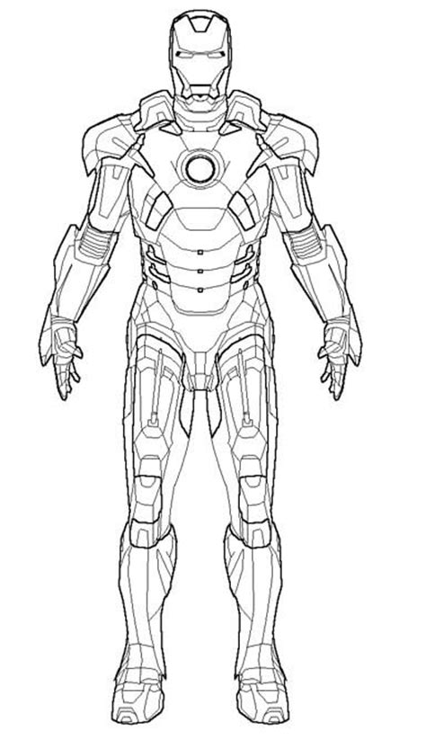 iron man mark 5 coloring pages the robot iron man coloring pages coloring pinterest