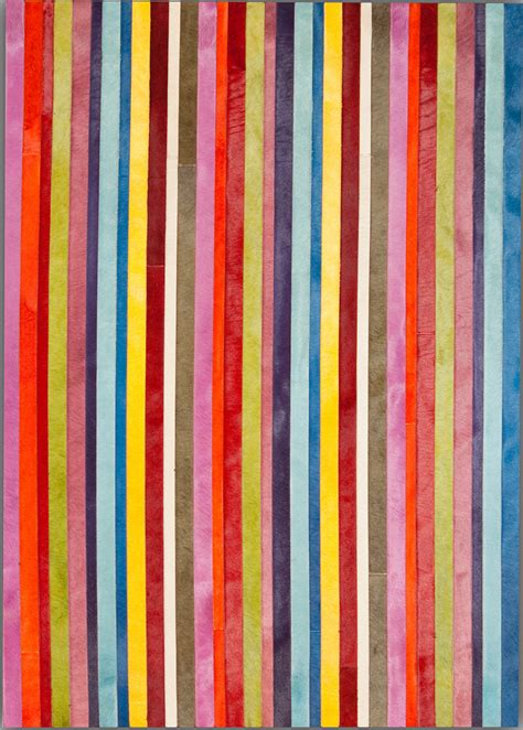 solid color rugs solid color vertical stripes cowhide rug from the