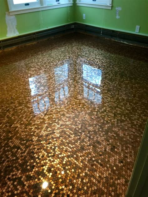 Penny Floor  Sierra Concrete Arts