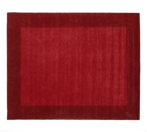 Cranberry Bath Rugs by Henley Rug Cranberry Pottery Barn