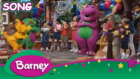 The Growing barney the growing up song song