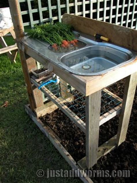 outdoor sink station no plumbing recycle quot quot sinks to be used for an outdoor wash station
