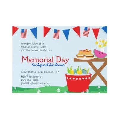 memorial day invitations best of memorial day invitation