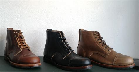 Handmade American Boots - rancourt co american handmade shoes amtraq distribution