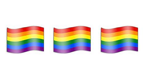 emoji rainbow apple releases rainbow flag emoji out news global