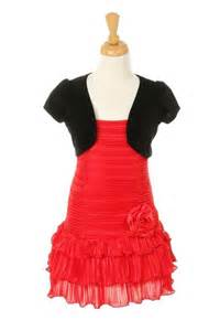 red kids dresses for 9 year olds red dress with black