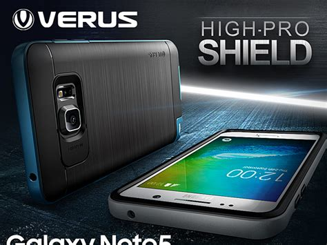 Verus Samsung Galaxy Note5 Note 5 Verge Light Silver 1 verus high pro shield for samsung galaxy note5