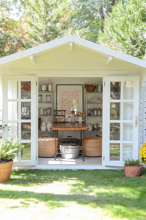 garden studio crafts stylin home tours gardens garden sheds and the