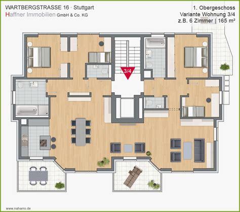 Grundriss Wohnung 6 Zimmer by Wartbergstrasse 16 Stuttgart