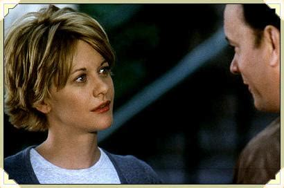 meg ryans hair in you got mail you ve got mail