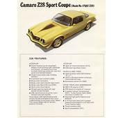 1977 Camaro Specifications  Autos Post