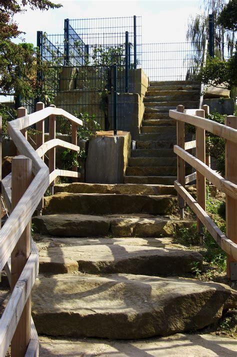 garten treppengeländer kostenlose foto natur die architektur holz mauer