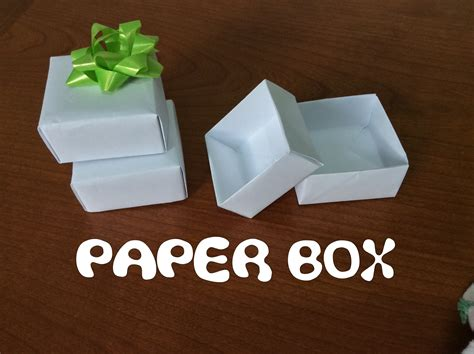How To Make Box From A4 Paper - simple paper gift box standard a4 sheet diy origami