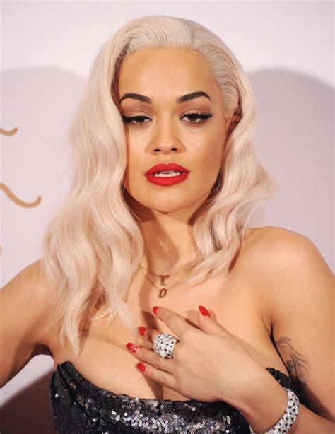 what colour liostick does rita ora wear on the voice 5 celebrities who love statement lipstick