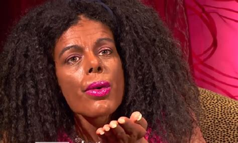 martina big dark skin white glamour model spends 67k on cosmetic surgery to