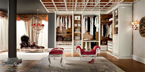 bespoke and accessorized walk in closet bedroom