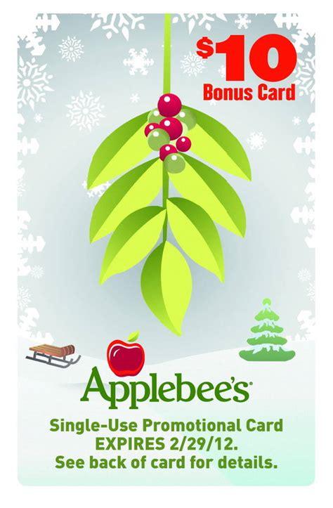 Applebee S Gift Card Bonus - applebee s r has your holiday bonus a free 10 bonus card with purchase of every 50