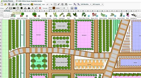 Free Vegetable Garden Planner Software Garden Ftempo Free Vegetable Garden Planner
