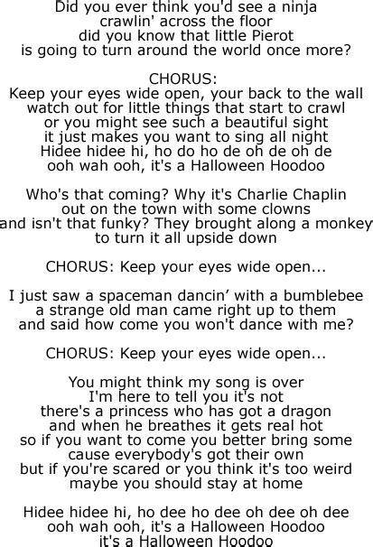 in my bedroom lyrics in my bedroom lyrics lyrics to this is halloween