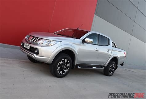 mitsubishi silver 2016 mitsubishi triton review gls exceed video