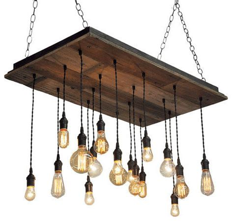 rustic chandelier reclaimed wood chandelier rustic chandeliers by