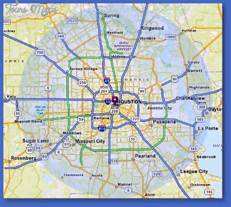 houston map metro houston metro map toursmaps
