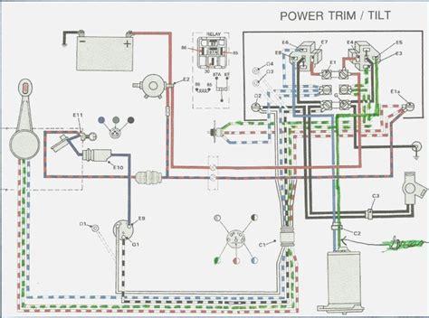 volvo penta 270 trim wiring diagram wiring diagram