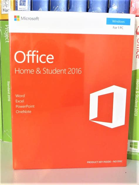 Office 2016 Home And Student Original new sealed microsoft office 2016 home and student 79g